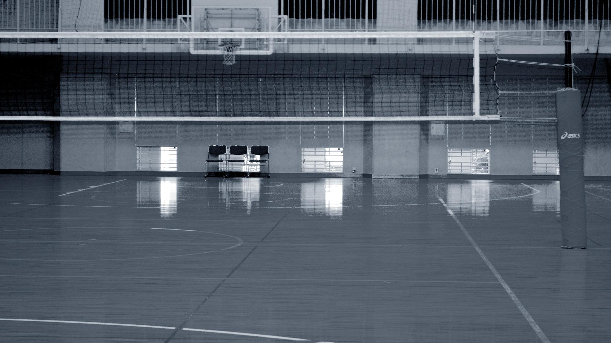 崇徳高校体育館